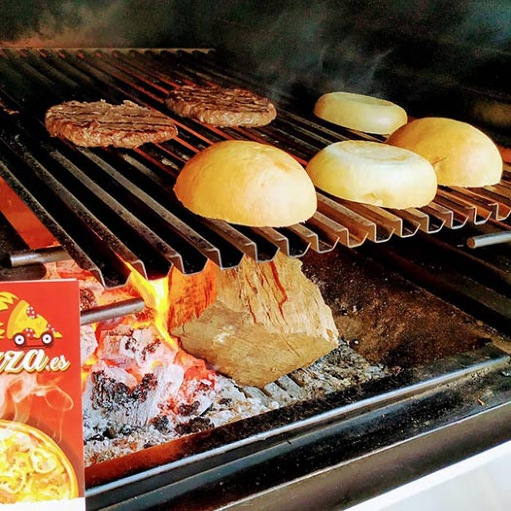 hamburguesa simple en mijas
